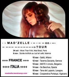 Mad'zelle tour