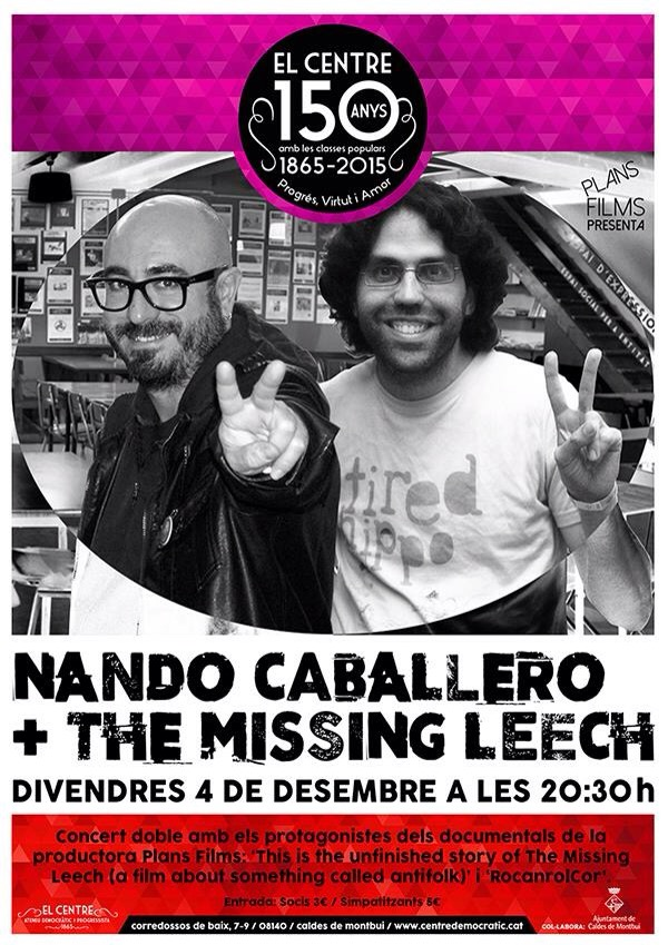 Concert de Missing Leech i NandoCaballero