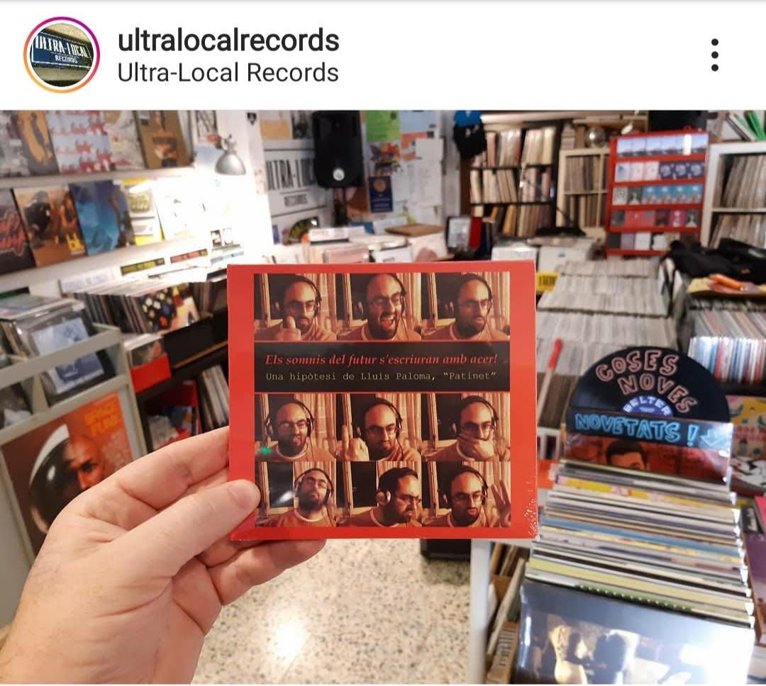 Lluís Paloma Disc Ultra-Local